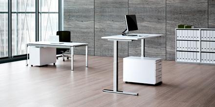 specktrum ergonomische b rom bel elektrisch h henverstellbare schreibtische steh sitztische. Black Bedroom Furniture Sets. Home Design Ideas